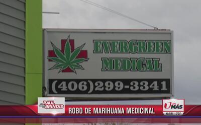 Roban droga de negocio de marihuana medicinal