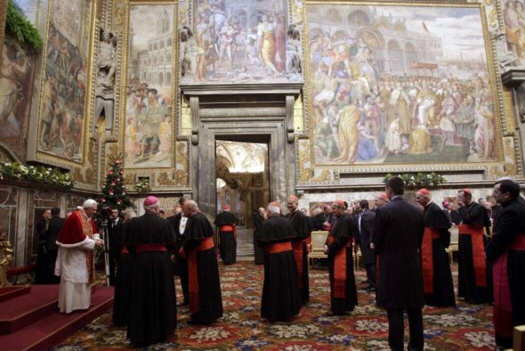 El pontífice habló de las revelaciones de abusos en el 2010 y dijo que '...