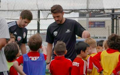 """David Villa: """"Lo más importante en el fútbol es la generación que viene"""""""