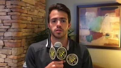 El guatemalteco Rodrigo Saravia orgulloso por firmar con Columbus Crew SC