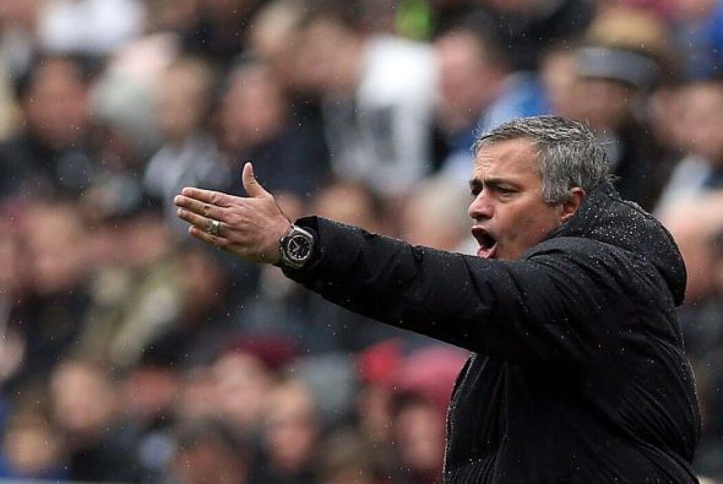 Chelsea no funcionó como en otros partidos y Mourinho expresó sus molest...