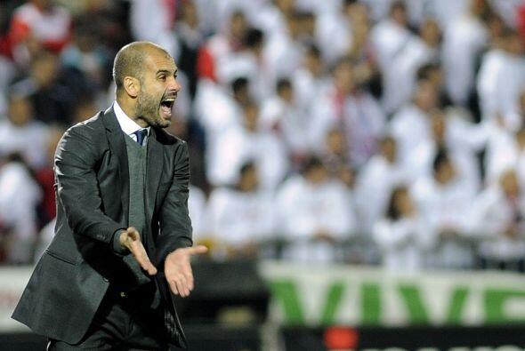 Ni siquiera el técnico Josep Guardiola estaba conforme con el res...