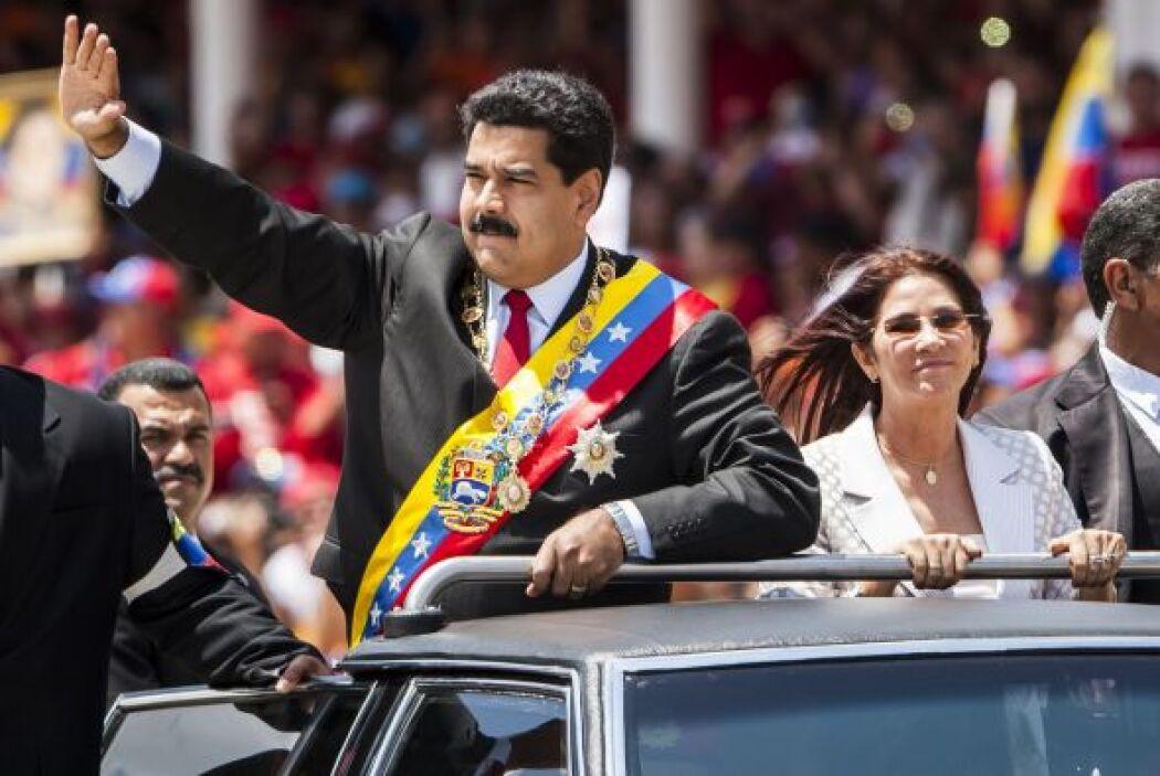 El gobernante anfitrión ofreció un discurso en el paseo militar Los Próc...