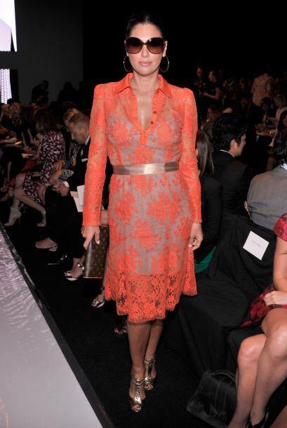 La Semana de la Moda de Nueva York captó a muchos famosos, entre ellos l...