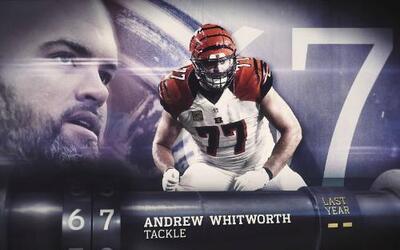 Top 100 Jugadores del 2016: (Lugar 67) T Andrew Whitworth