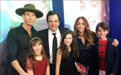 La familia Rubín Legarreta apoyó a la pequeña Mía, de 11 años, en su deb...