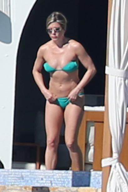 ¡En sus últimas vacaciones, Jennifer Aniston utilizó un bikini a dos pie...