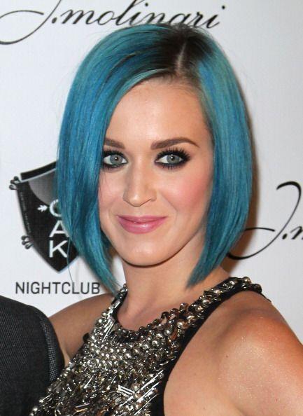 Las ideas de Katy también se han pintado de azul para seguir con su tend...