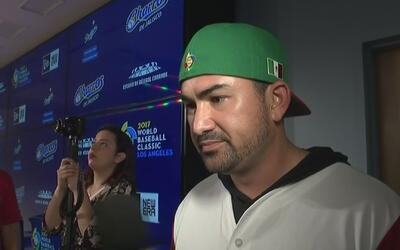 """Adrián González sobre Dodgers en el Clásico Mundial: """"El equipo está muy..."""