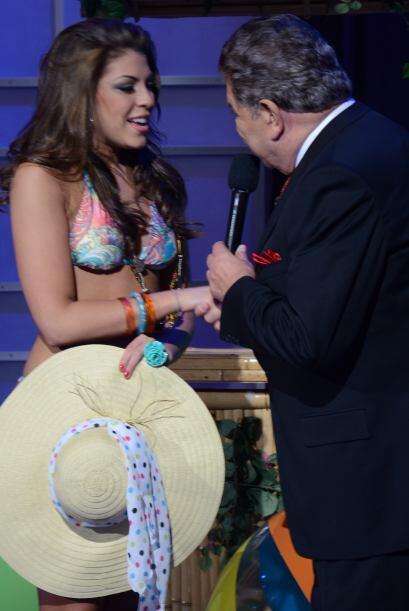 Al final Nicole quedó ubicada en la tercera posición del Reto Gigante.