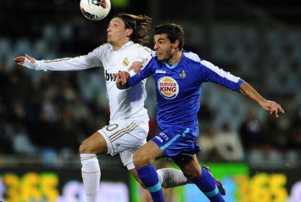 Ozil volvió a ser de los mejores en el equipo 'merengue'.