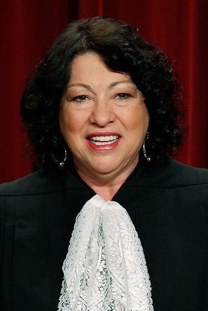 Y la mejor colocada del mundo hispano en esta lista (19º) es la jueza So...
