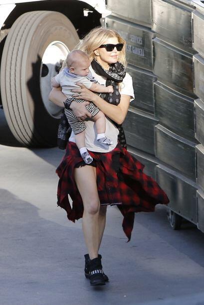 La maternidad sienta bien y para muestras tenemos a Fergie.Mira aquí los...