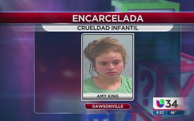 Encarcelan a madre por crueldad infantil en Dawsonville