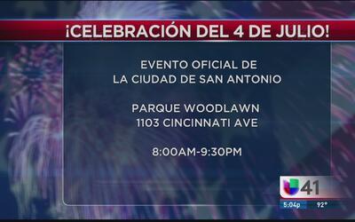 ¡Celebración del 4 de julio en San Antonio!