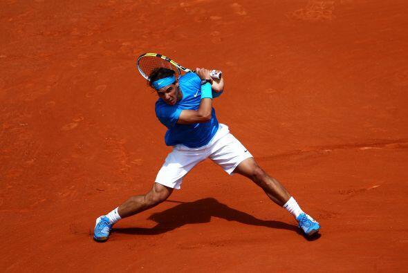 En actividad masculina, Rafael Nadal sigue demostrando por qué es...