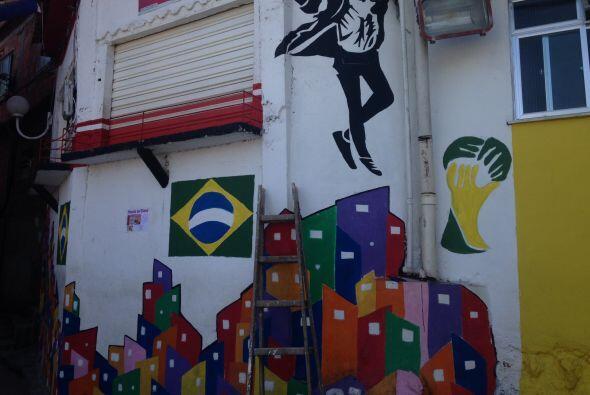 ¿Qué tal las calles de Brasil con toda la fiebre mundialista?
