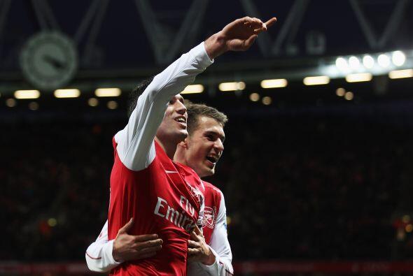 Por otra parte el Arsenal le ganó 1 a 0 al Queens Park.