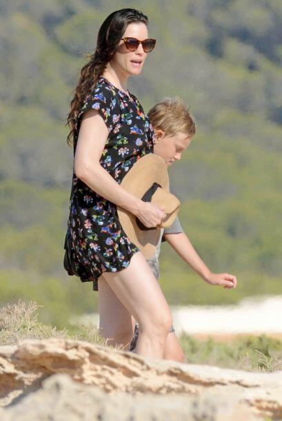 La actriz es otra de las famosas que también está esperando de nuevo a l...