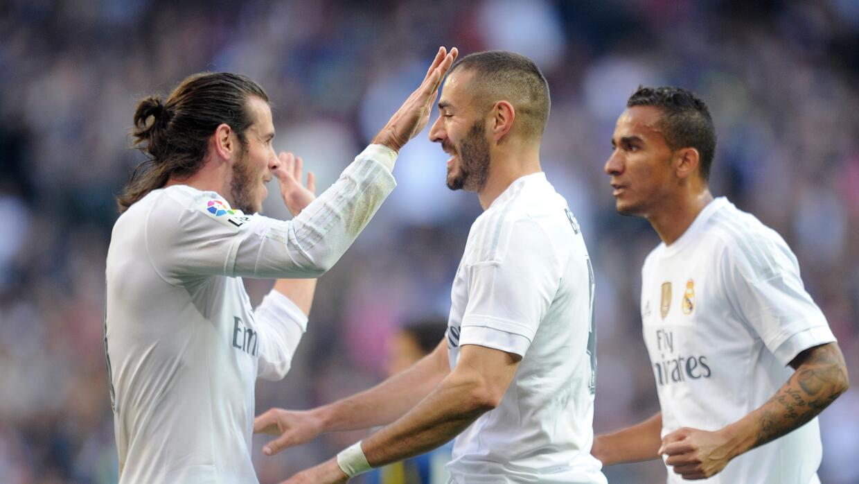 Bale y Benzema volvieron a anotar en el Bernabéu