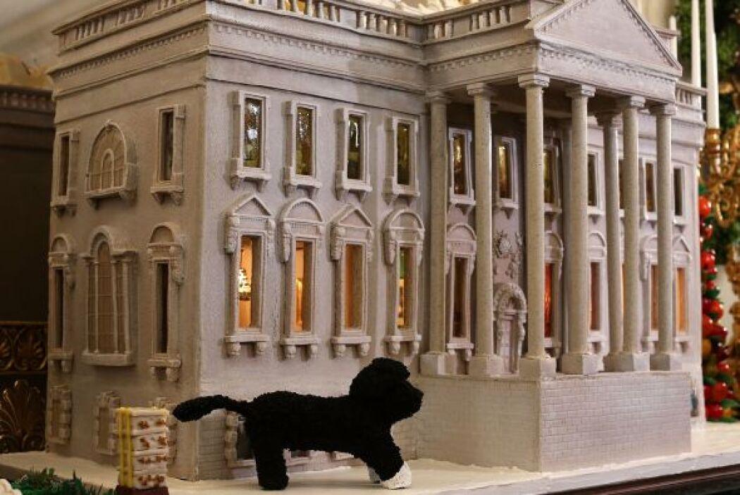 Para la Navidad del 2012, la tradicional casa de jengibre fue diseñada c...