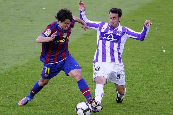 En juego con pocas exigencias, Barcelona se puso en ventaja al minuto 27...