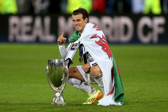 El público aplaudió de forma especial a Gareth Bale, el ga...