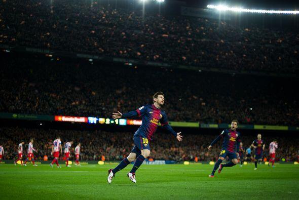 Messi es el alma azulgrana. El que desatasca en las escasas ocasiones en...