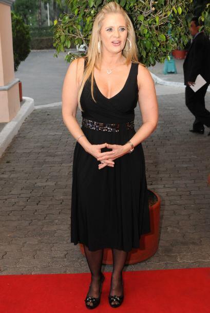 """Érika se integró al elenco de """"Triunfo del Amor"""" en el 2010."""
