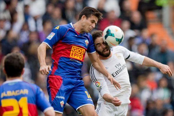 Real Madrid recibió al Elche con la baja de Cristiano Ronaldo por sanción