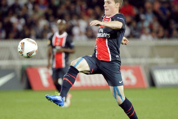 El atacante, que apenas este torneo fue comprado por París Saint-Germain...