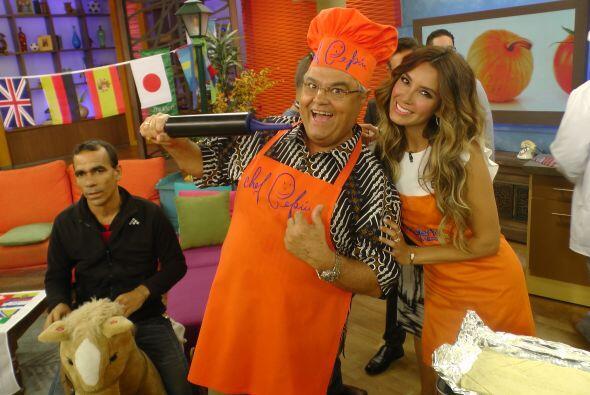La guapa actriz mexicana hizo ejercicio, cocinó y alegró aún más nuestro...