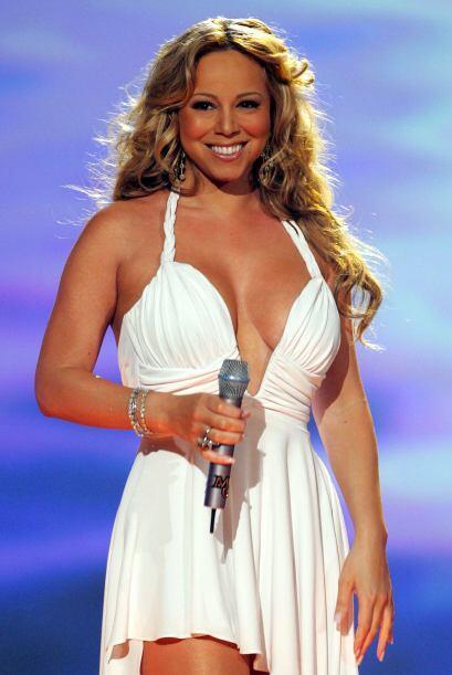 A pesar de su sube y baja de peso, Mariah siempre estuvo entre las mujer...