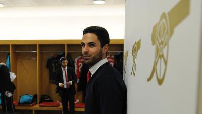 Mikel Arteta, capitán del Arsenal.