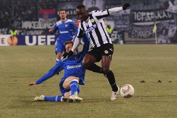 Por último, Udinese y el PAOK Salonika tuvieron un partido de lo...