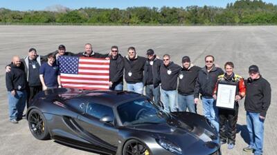 El Venom Gt logró alcanzar las 270 millas por hora aunque no de manera o...