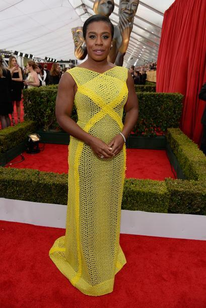 Se luce como 'Crazy Eyes' en 'Orange is the New Black', Uzo Uduba. La qu...