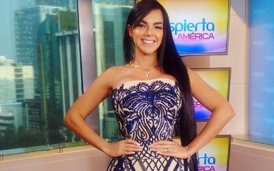 Cintura de avispa: Aleira Avendaño presumió su cintura de 20 pulgadas