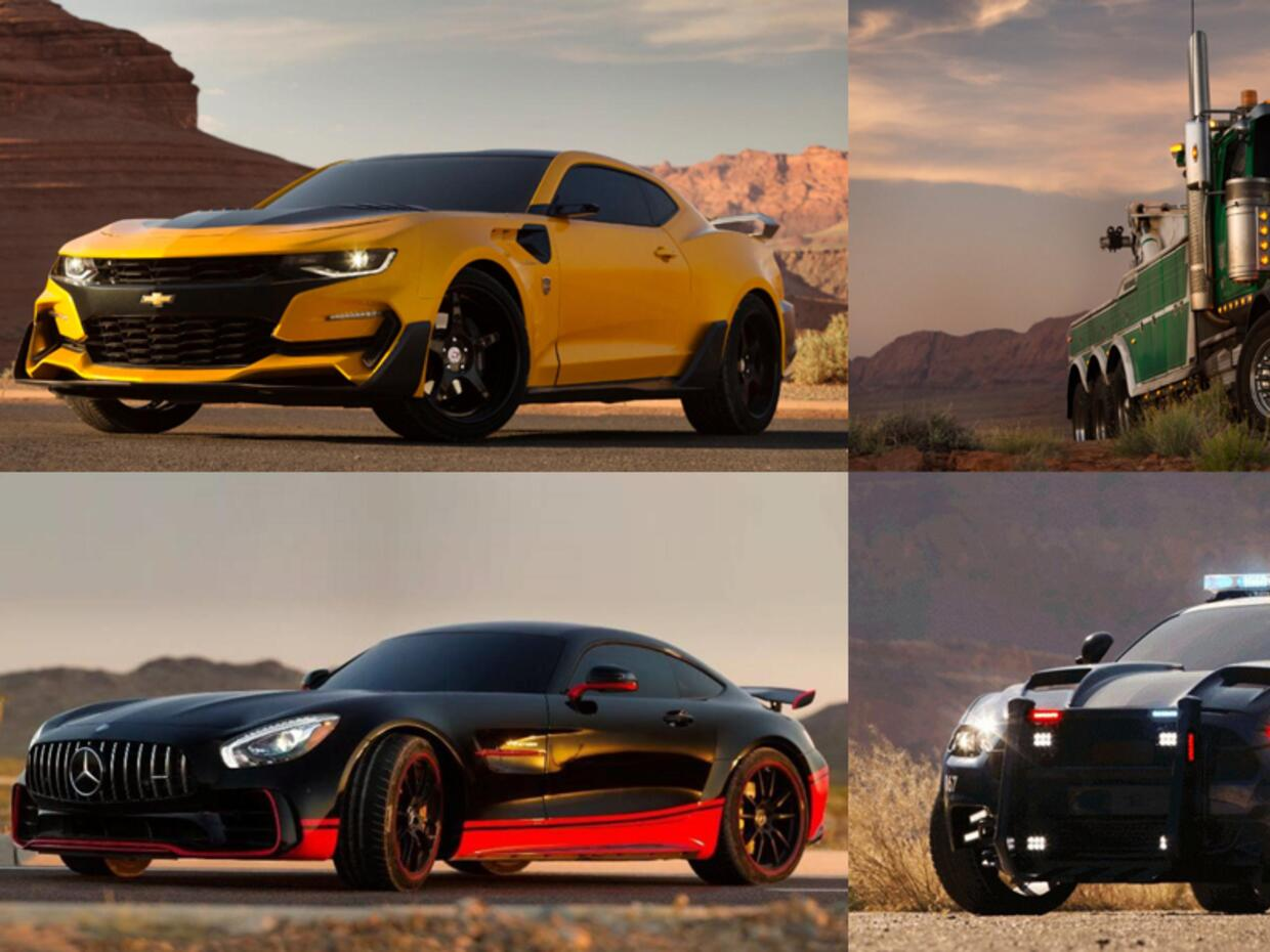 "Los autos de ""Transformers: The Last Knight"""