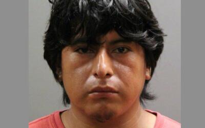 Juan Chimbo, de 28 años, fue arrestado el domingo en la noche.