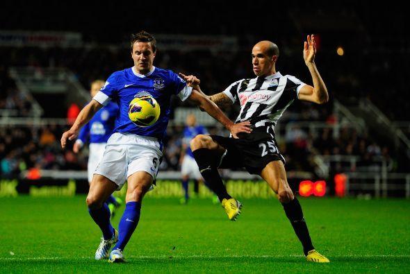 Finalmente, el Newcastle jugó como local ante el Everton.