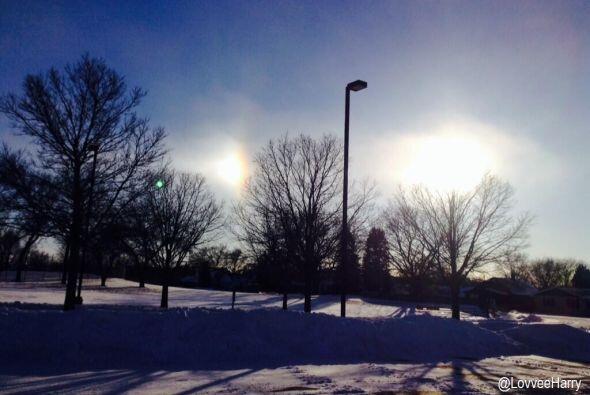 Hugo Vega captó esta imagen en Minnesota.