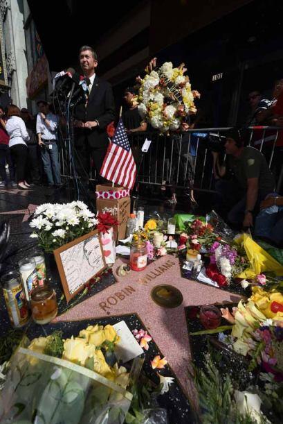 Tras la trágica partida de Robin Williams, su estrella en el pase...