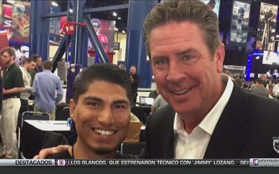 Miguel 'Mickey' García y su lado fanático de la NFL