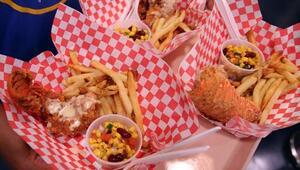 Un gran festín de comida frita se disfrutó en el 11vo. Concurso Anual 'B...