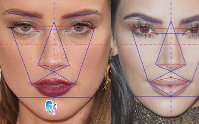 Estas famosas tienen los rostros más perfectos de la farándula