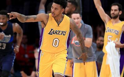 Escolta de los Lakers, Nick Young