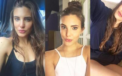 Macarena Achaga es la reina del 'selfie'