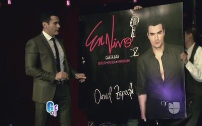 David Zepeda regresa a la musica!