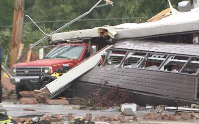 En video: Un tornado en Carolina del Norte deja numerosos destrozos
